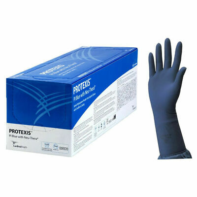 Protexis Pi Blue With Neu-Thera Sterile Powder Free  Gloves 7.5  50 Pair 09/2020