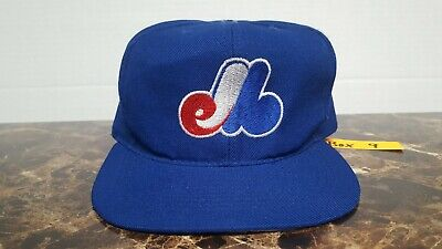 4a871ab8fb084 Vintage Montreal Expos Youth boys snapback baseball hat cap MLB American  Needle