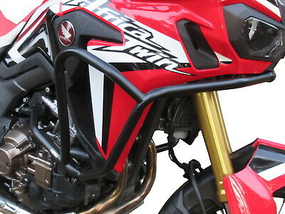 Pare carters Heed pour HONDA CRF 1000 Africa Twin DCT - Basic noir