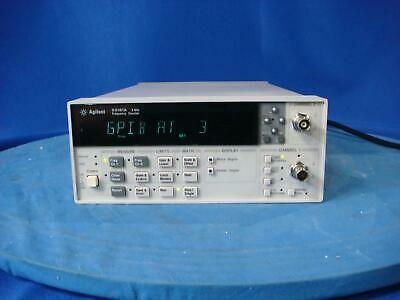 Agilent 53181A Frequency Counter With Option 010, 030