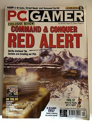PC Gamer Magazine Retro Issue 37 December 1996 Command And Conquer Red Alert