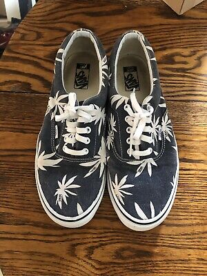 22a5aa2b203c VANS ERA 59 Limited Edition Blue And White Skate Shoes Sneakers Men's Size  13
