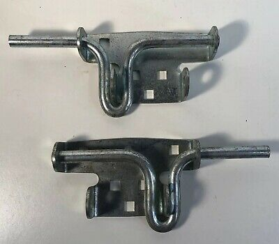 Gate Shed Fence Door Latch Slide Bolt Sliding Lock Secure Close Silver (I1)