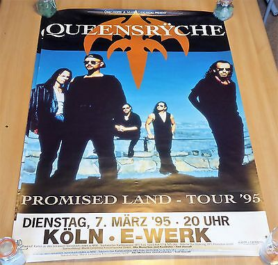 Queensryche : Promised Land Tour - Poster 1995 - Koln Germany ( Size : 80x60 ) .