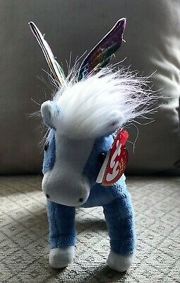 ty Beanie Babies - PEGASUS the Flying Horse - Retired - With Tags