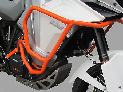 Sturzbügel HEED KTM 1290 SUPER ADVENTURE T (2017 - ) - Orange + Taschen