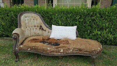 Fabulous Antique Chaise Lounge - Victorian c1880