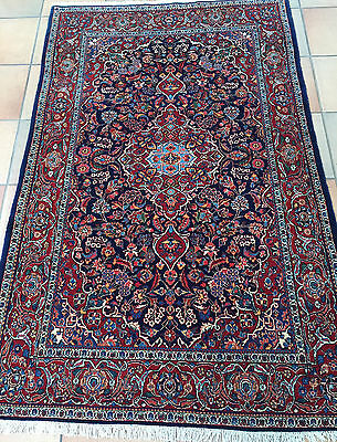 Authentic hand knotted Semi-antique rug perfect