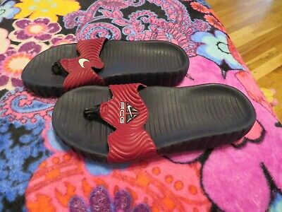quality design 02be1 8d2e0 NIKE ACG SANDALS Red Black Mens Size 13 - $34.99 | PicClick