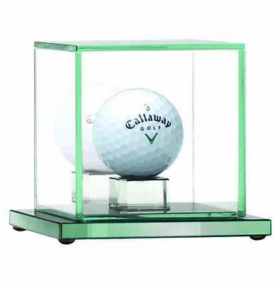 Golf Calibre4 Ball Capsule Jade Glass Hole In One Case (10cm) free engraving & p