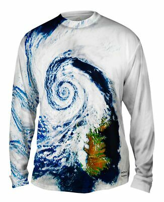 Yizzam- Wild Weather Hurricane Iceland - New Mens Long Sleeve Tee Shirt XS S M