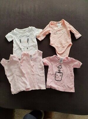 Baby Girls Clothes Bulk Lot - Size 00000 x 6 pieces