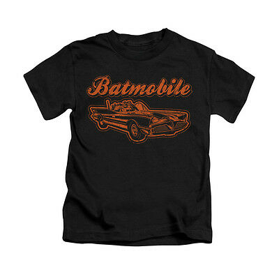 BATMAN BATMOBILE Licensed Toddler & Boy Graphic Tee Shirt 2T 3T 4T 4 5-6 7