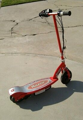 Red The Blaster XC-300GT Electric Seated Blaster Motorized Scooter