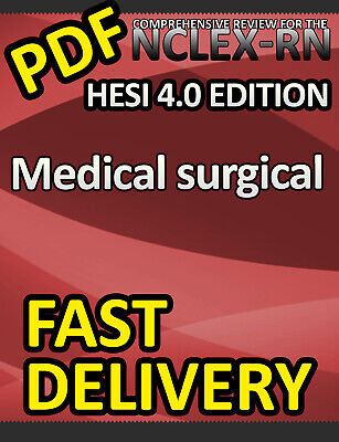 HESI Medical-Surgical Review for the NCLEX-RN Examination, 4th Edition