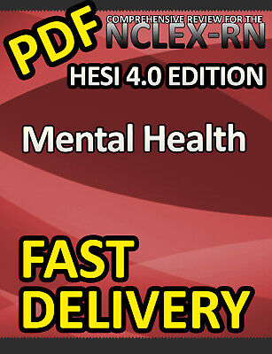 HESI Mental Health Review for the NCLEX-RN Examination, 4th Edition