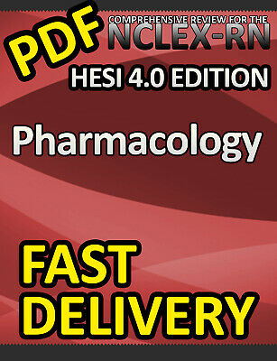 HESI Pharmacology Review for the NCLEX-RN Examination, 4th Edition