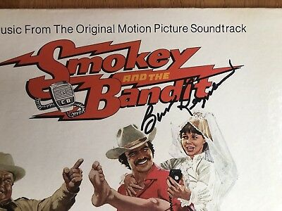 BURT REYNOLDS Signed Smokey and The Bandit LP ALBUM VINYL Obtained In-Person