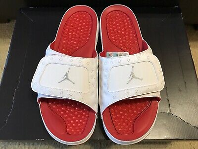10388563bb35 Nike Jordan Hydro XIII 13 Retro Slide Sandal Men s sz 14 White Red 684915- 121