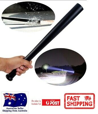 Baseball Bat LED Flashlight Long Torch for Emergency Security Self Defense Safe