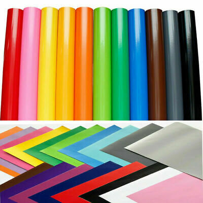 "12"" x 10ft Self Adhesive Craft Sign Vinyl Outdoor Waterproof Cricut Cutter Film"