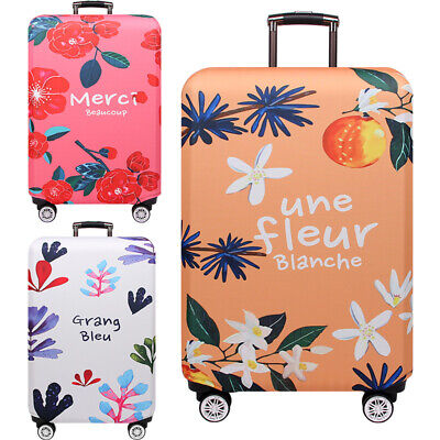 """Elastic Luggage Cover Trolley Case Travel Protective Suitcase Dust Cover 18-32"""""""