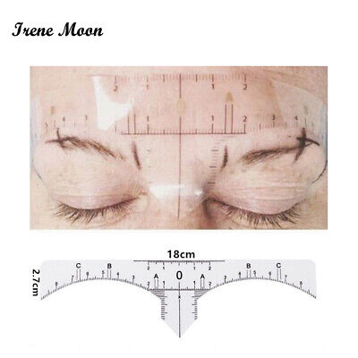 Disposable Eyebrow Ruler Sticker Microblading Tattoo Measure Permanent Makeup