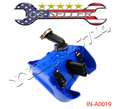PCC MOTOR BLUE FOR Yamaha PEEWEE PW80 PW 80 Air Box Filter assembly AF17