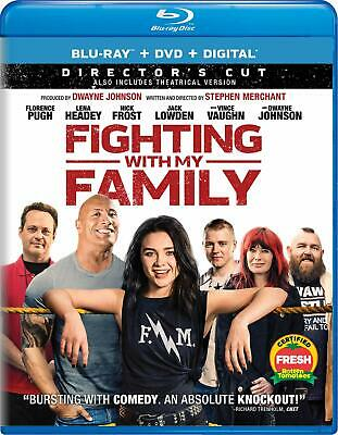 FIGHTING WITH MY FAMILY New Sealed Blu-ray + DVD + Digital Florence preorder