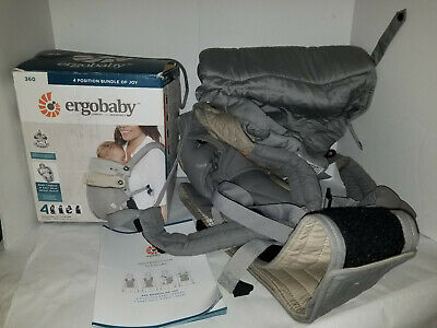 72d4b281f20 Ergobaby Ergo Baby 360 Bundle Of Joy Carrier Easy Snug Infant Carrier 4  Position