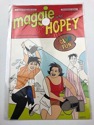 Maggie and Hopey Color Fun Special #1 (May 1997, Fantagraphics Books)