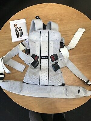 Baby Bjorn Baby Carrier One Air (Silver Mesh) (BabyBjorn) As new Condition