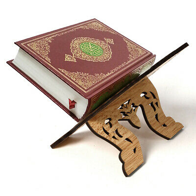 Portable Wooden Lesser Bairam Book Reading Desk Stand Book Document Holder