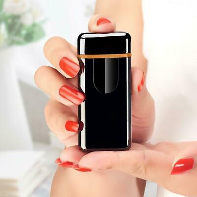 USB Electric Dual Arc Flameless Torch Rechargeable Windproof Lighter 5 Colors US