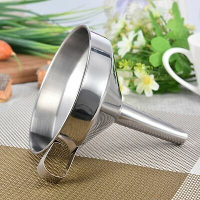 Steel Funnel Functional Stainless With Detachable Strainer/Filter Kitchen Tools