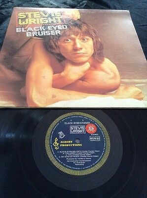 Stevie Wright Black Eyed Bruiser Lp Sample Promo Albert Productions Aplpa 012