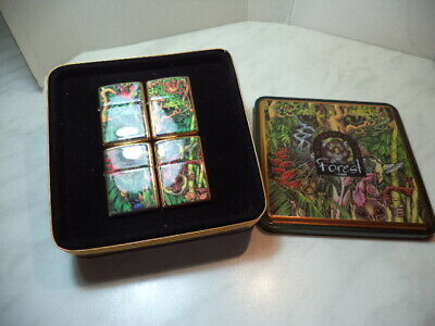 Zippo Accendino Lighter Mysteries Of The Forest Serie 4 Pz Limited Edition Rare
