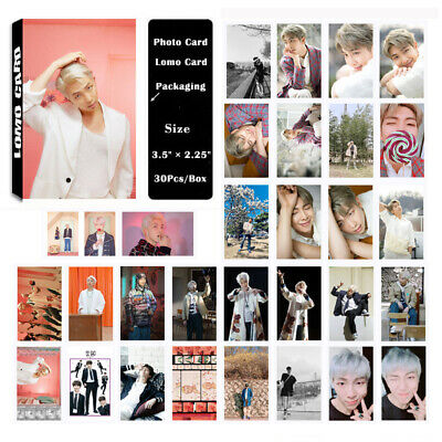 KPOP Bangtan Boys Album MAP OF THE SOUL PERSONA RM PhotoCard Lomo Card