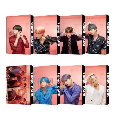 KPOP Bangtan Boys Album MAP OF THE SOUL PERSONA PhotoCard Lomo Card