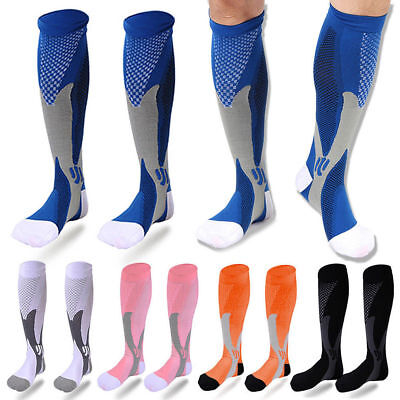 Medical Compression Socks Varicose Vein Stockings Travel Leg Pain Relief Flight