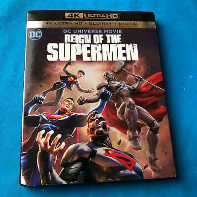 Reign of the Supermen (4K Ultra HD Blu-ray Disc ONLY, 2018) + Slipcover Sleeve