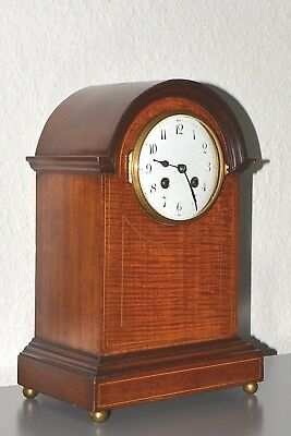 JAPY FRERES & CIE Antique Victorian (1867) mantle clock. Made in France. Running