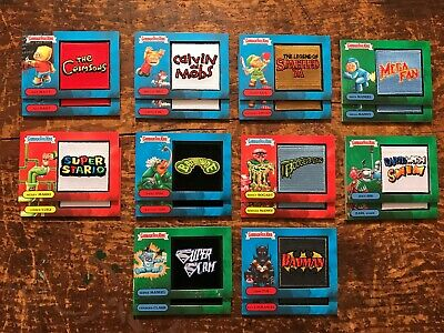 Garbage Pail Kids WE HATE THE 90's COMPLETE 20 Card PATCH Set Collector Edition!