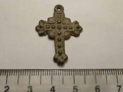 4109	Ancient Byzantine bronze cross