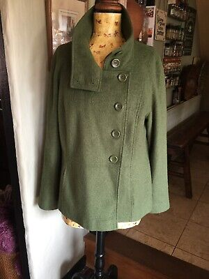Ladies Green Jacket Size 18