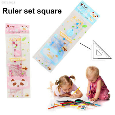 2B7E281 Ruler Mathe Drawing Stationery Durable 5in1 Office Students Cheap Gift