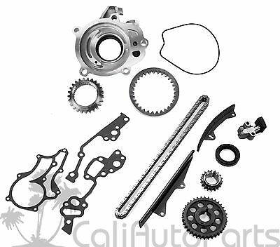 77-82 Toyota Pickup Corona Celica 2.2L 2.4L Timing Chain Oil Pump Kit 20R 22R