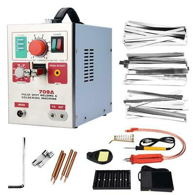 3.2kW Spot Welder with Soldering Pen DIY 18650 Lithium Battery Welding Machine