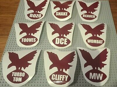 Manly Warringah Legends Stickers Nrl Sea Eagles Choose Your Sticker