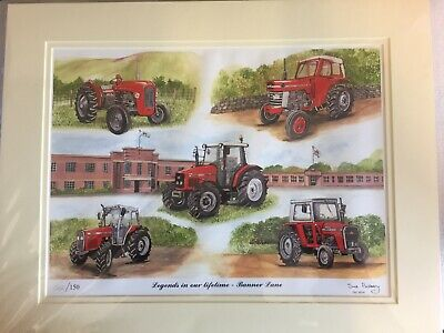 Legends in our lifetime  Massey Ferguson Limited Edition Sue Podbery